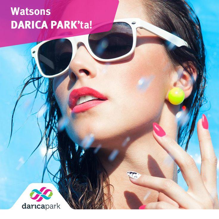 Renkli ojeler, aksesuarlar ve birbirinden güzel gözlükler… Watsons, #DarıcaPark zemin katta.