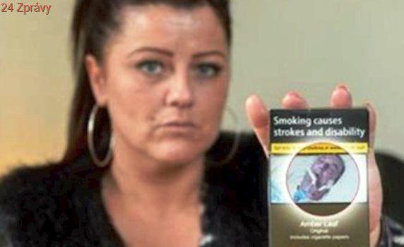Spatřila krabičku cigaret své kamarádky a zůstala v šoku! Ihned poznala umírajícího na fotce