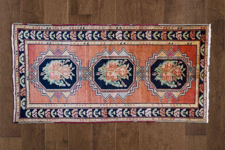 Dusky Tulip Turkish Carpet