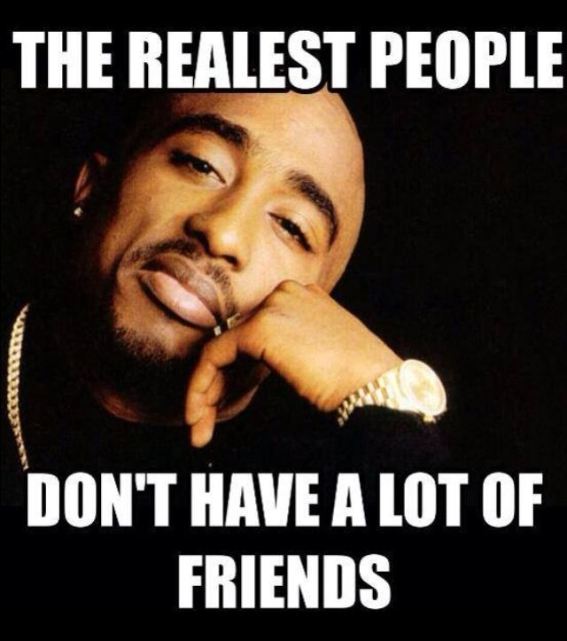 the réalistes peoples dont have a lot of friends