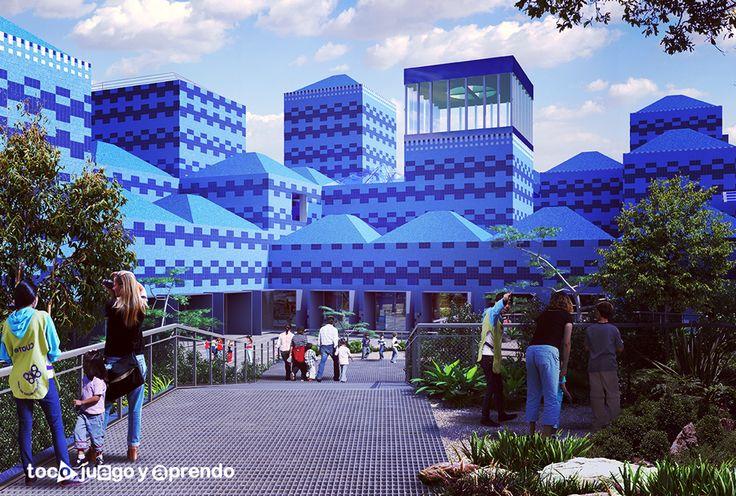 Papalote Museo del Niño, ubicado en el Bosque de Chapultepec en la Ciudad de México.
