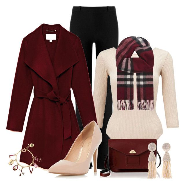 """""""Winter Professional Wardrobe Capsule: Outfit 17"""" by vanessa-bohlmann ❤ liked on Polyvore featuring Roland Mouret, Miss Selfridge, Dorothy Perkins, The Cambridge Satchel Company, Oscar de la Renta, Betsey Johnson and Burberry"""