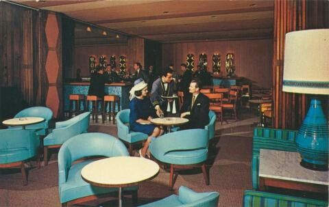 Inside the southern Cross hotel