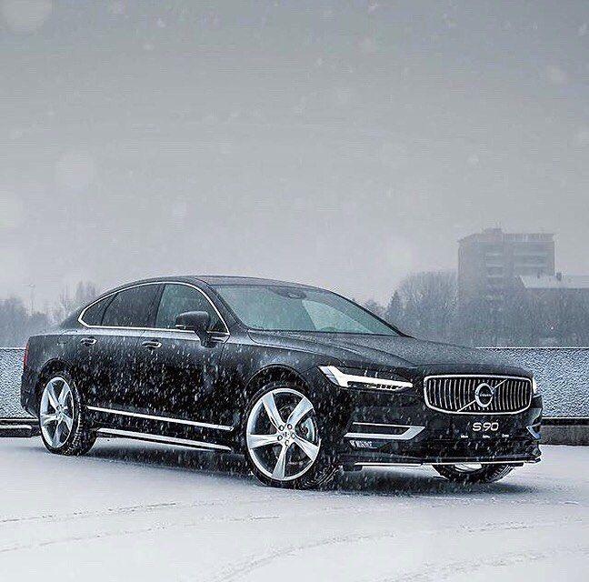 Kühle Eleganz – der Volvo S90. #Volvo #Volvocars #VolvoS90 #S90 #Volvomoment …