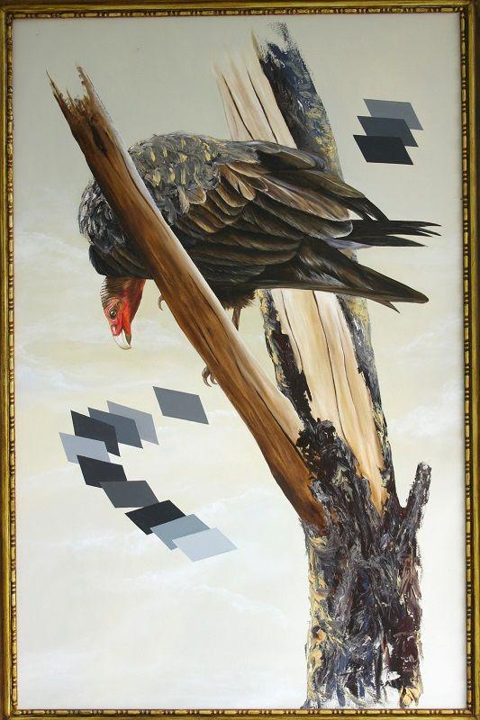 Mutación 150 cm x 96 cm Oleo-Lienzo 2008 3000€ #arte #art #cuban #CesarIvan