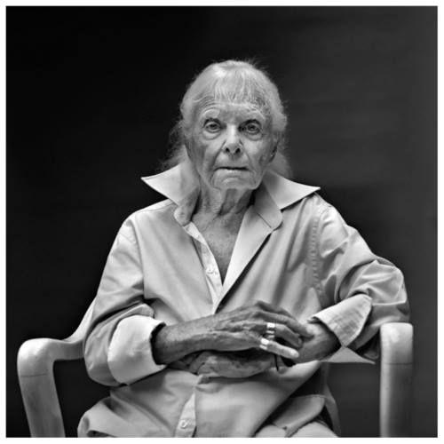 Michael Somoroff - Lillian Bassman, New York City, 2011