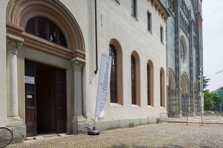 RIarchitettura Vercellio, ingresso a Sant'Andrea