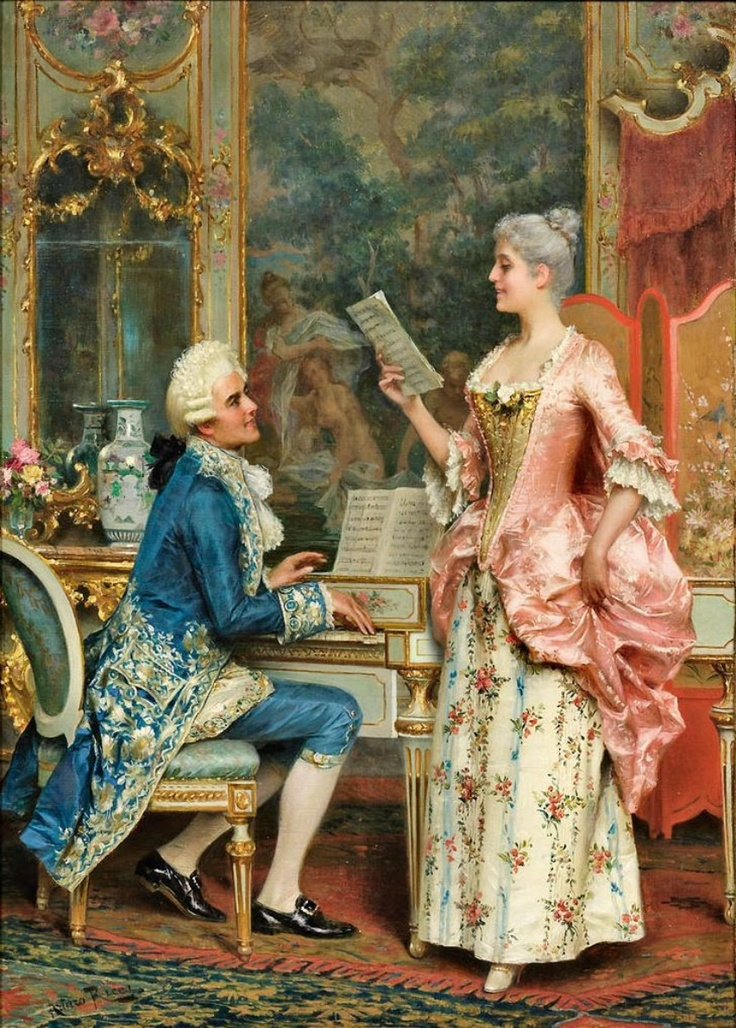 Arturo Ricci.The Singing Lesson