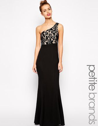Jarlo caden halter maxi dress with lace bodice banded