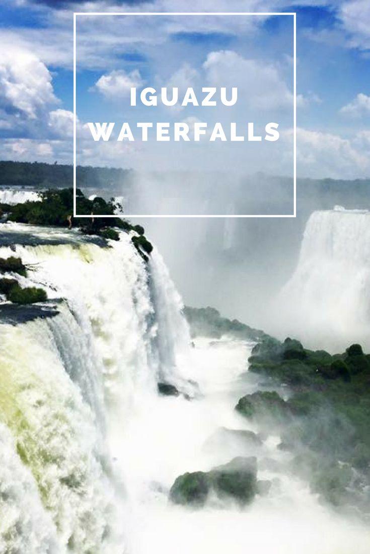 The beautiful Iguazu Waterfalls in Brazil, visit Brazil,visit Iguazu Waterfalls, brazil travel, seven wonders of the world, argentina, argentina travel, discover brazil, discover argentina, solo travel, solo female travel, female, travel