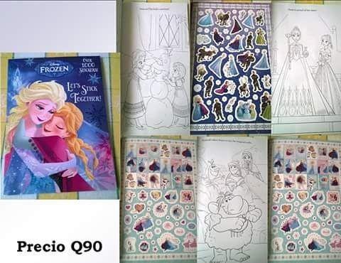Únete a #Anna, #Elsa, y #Olaf por horas de diversión con este #libro de lujo y de actividades que cuenta con más de 1.000 pegatinas ó #stikers Es el regalo perfecto para #niños y #niñas de 3 a 7 años que aman #Frozen. #mamis #gt ��Entrega gratuita en zona 6 de Mixco, c.c. san francisco, c.c. sobre la san juan hasta peri Rosevelth o por mensajero con costo adicional de Q25.00�� ��️A departamentos por medio de Guatex previo deposito y pagando el envío ��️…