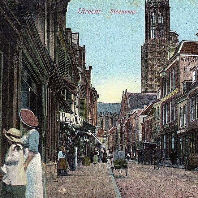 Utrecht, Steenweg 1916