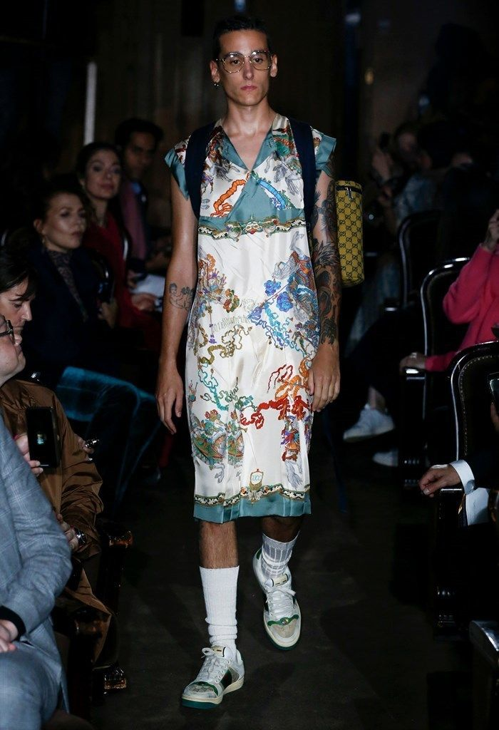 ff2a76cede09 Ready-to-Wear Report  Gucci SS19 Runway + Fall 2018 Gucci Collection at  Italist.com