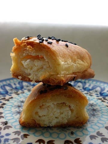 Greek cheese pies. I miss the Greek bakeries SO much...