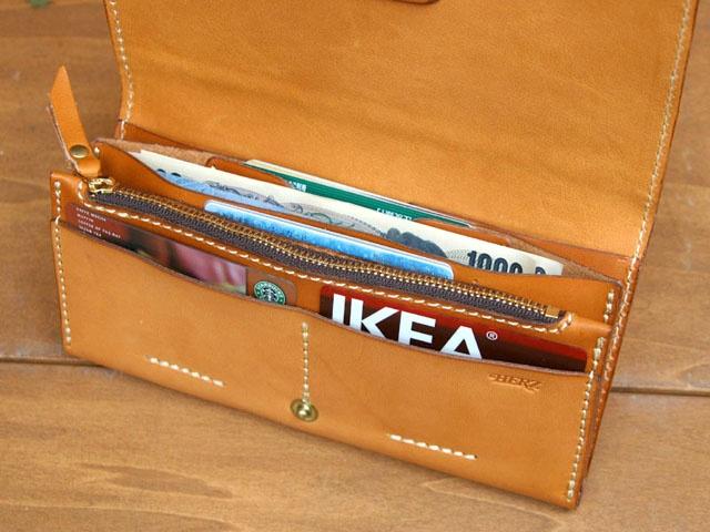 革財布: ヘルツ(HERZ) ジャバラ型本革長財布 革カバン・レザーバッグ・本皮財布・皮小物の「大人の革道楽」