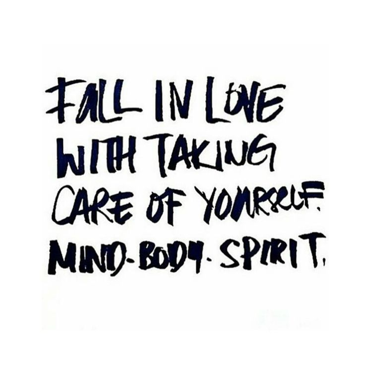take care of yourself//