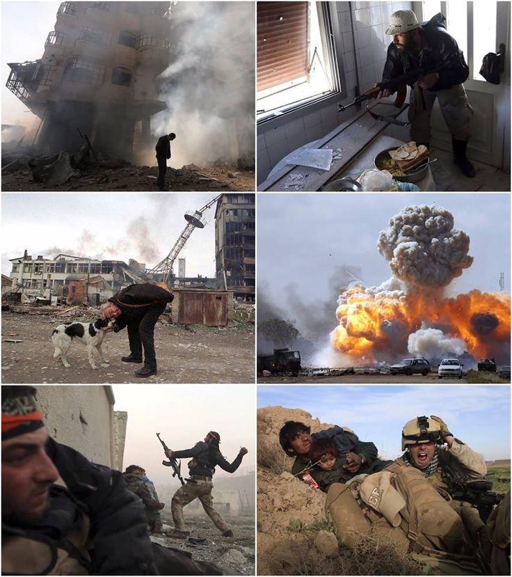 Fotógrafo de guerra comparte su experiencia de más de 20 años en video