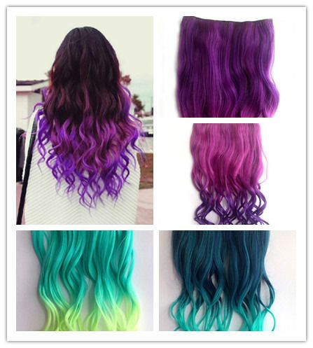 28 best hair extensions images on pinterest hairstyles 100 9 colours 26 34 full head clip in synthetic hair extensions human made pmusecretfo Images