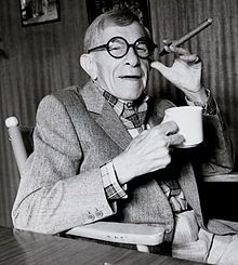 """You can't help getting older, but you don't have to get old."" --George Burns"