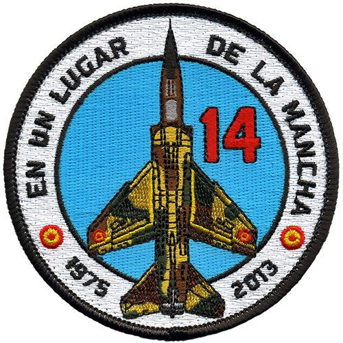 Parche-Mirage-F-1-Ejercito-del-Aire-Espana-Spanish-Air-Force-patch-Military