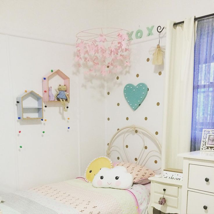My youngest Daughters room... We ❤️ Kmart. #Kmartinspire @kmartaus_inspire @kmartaus @i_heart_kmart