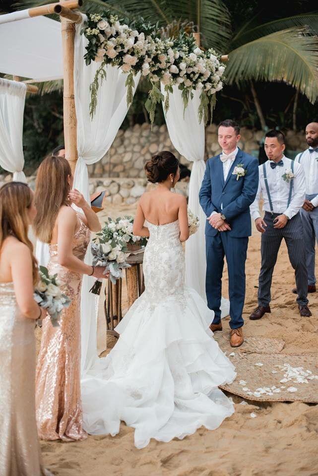 Pin By Adventure Weddings On Luxury Beach Wedding Bodas Unicas En La Playa Wedding Dresses Beach Wedding Chuppah,Plus Size Wedding Dresses Online Australia