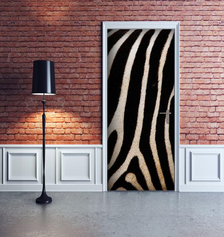 Decorazione Adesiva Zebra