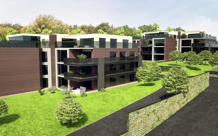 Modern constructions in switzerland: True Media, Nice House, Modern Construction