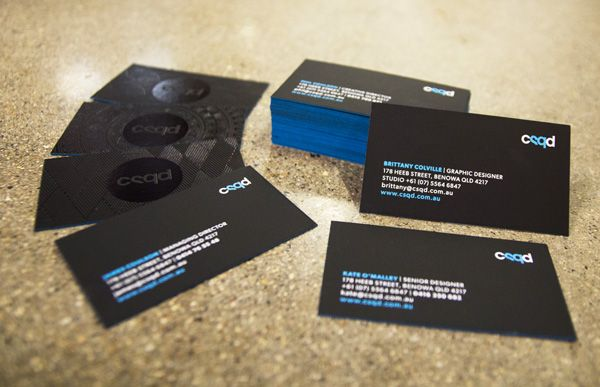CSQD Business Cards on Behance