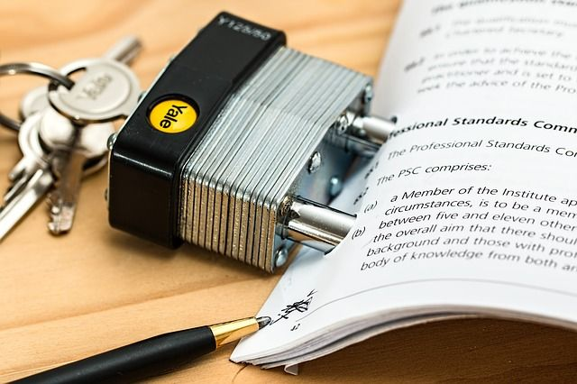 Real Data Protection - Your documents and files contain valuable and sensitive information. Take appropriate precautions to protect them by keeping your files #secure with an adequate #lock.