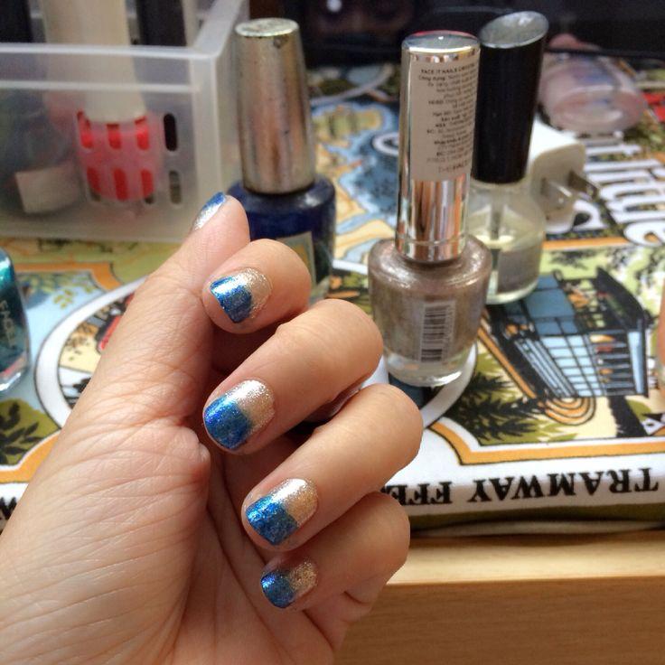 Sparking blue