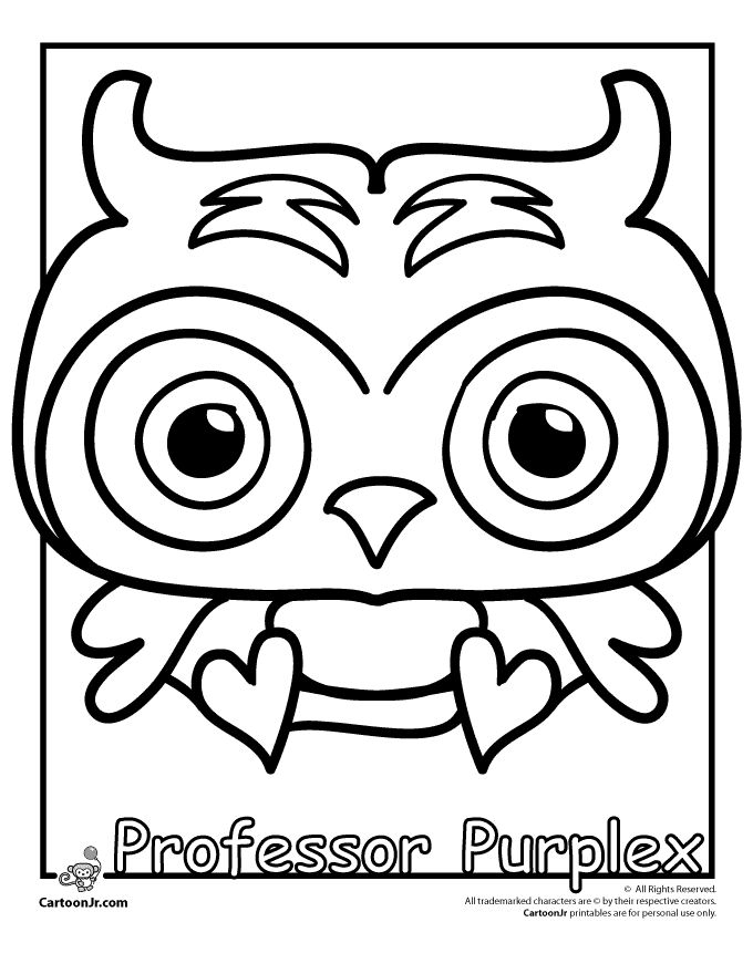 7 best cartoons images on pinterest | cartoons, coloring pages and ... - Baby Moshi Monsters Coloring Pages