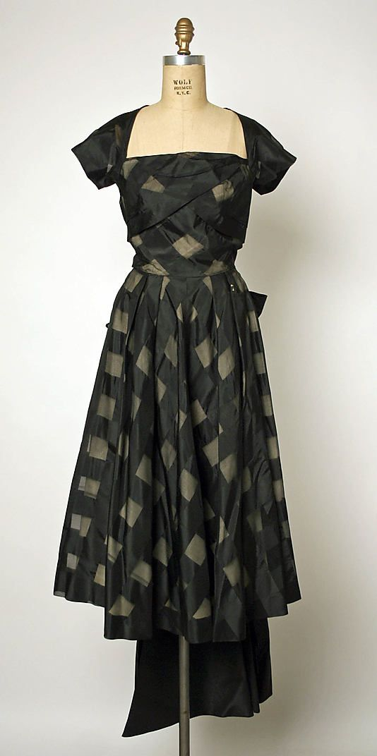 Dress  Gilbert Adrian  (American, 1903–1959)  Date: ca. 1947