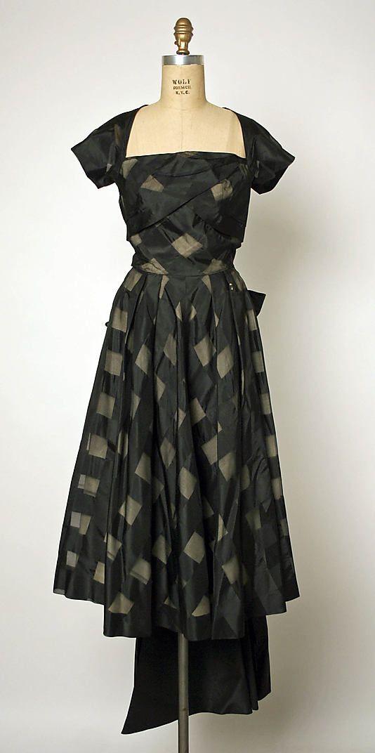 Dress  Gilbert Adrian  (American, 1903–1959)  Date: ca. 1947