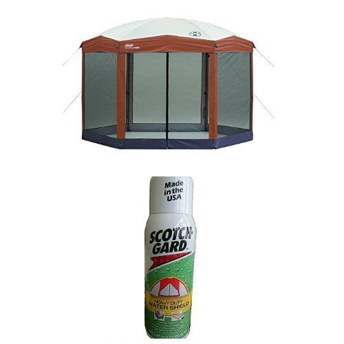 Coleman 12 x 10 Instant Screened Canopy and Scotchgard Outdoor Water Shield >>> Check this awesome product by going to the link at the image.