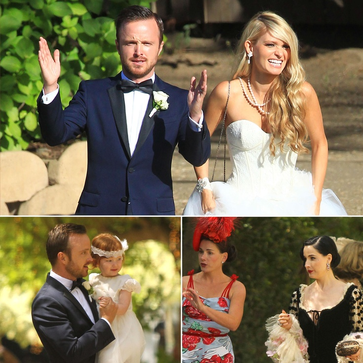 Aaron Paul Wedding Weekend!
