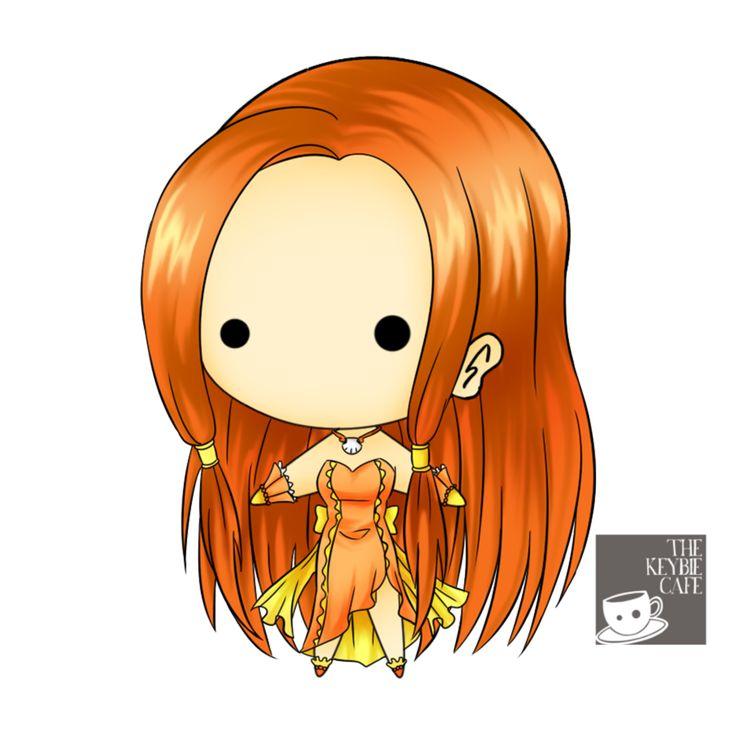 Mermaid Melody Pichi Pichi Pitch keybies - Sara