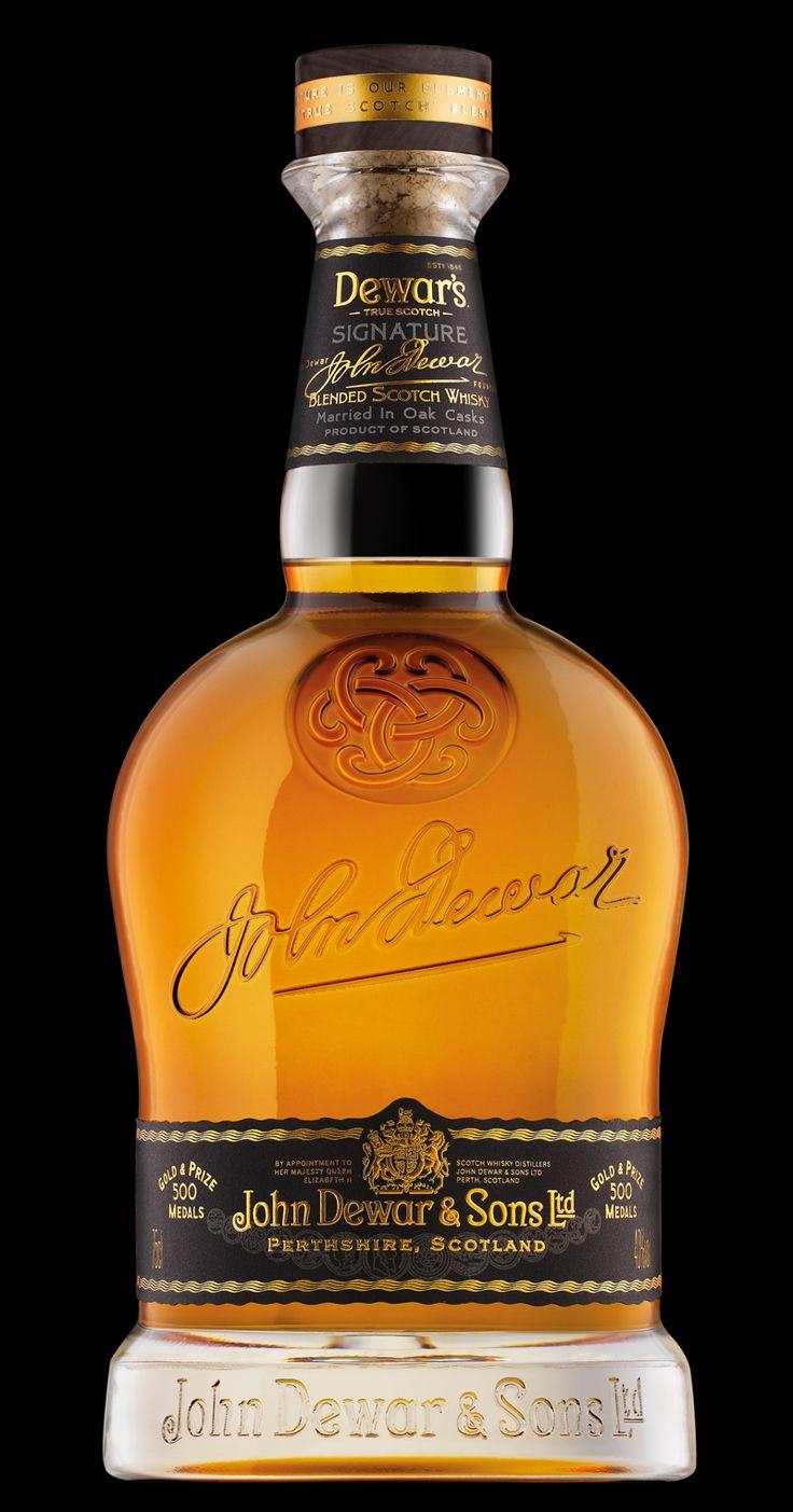 Dewar's whisky redesign, packaging design by Stranger & Stranger