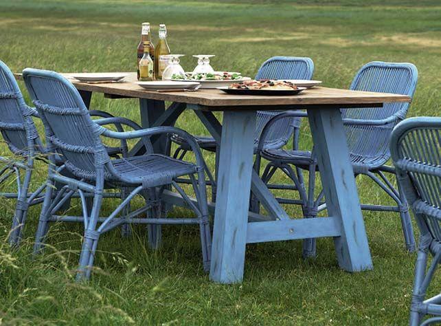 Blue garden furniture. 50 best garden furniture images on Pinterest   Garden furniture