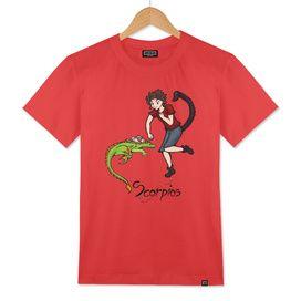 "Scorpius among the stars - series of T-shirts ""Polaris"""