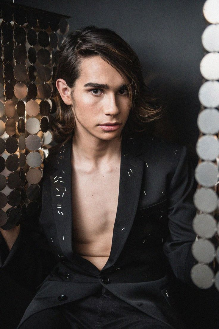 Editorial: The King Is Naked Feat. Isaiah Firebrace ( Suit by Dior Homme )