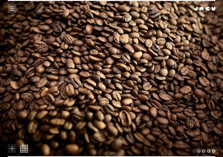 Jacu Coffee Roastery - Creativa navegación. Excelente fotografía.