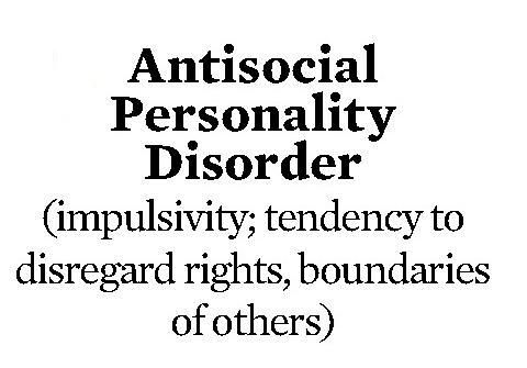 understanding anti social personality disorder According to dsm-iv, the prevalence of antisocial personality disorder in the united states population is spread between about 3 percent of adult males and 1 percent of adult females 3 as much as 3 to 30 percent of psychiatric outpatients have antisocial personality disorder 4 as mentioned, antisocial personality disorder is more common.
