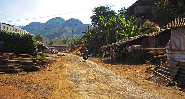 Some rural village at the Son La town. #vietnam #sonla #village #ethnicity #travel
