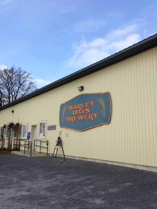 Barley Days Brewery in Picton, ON