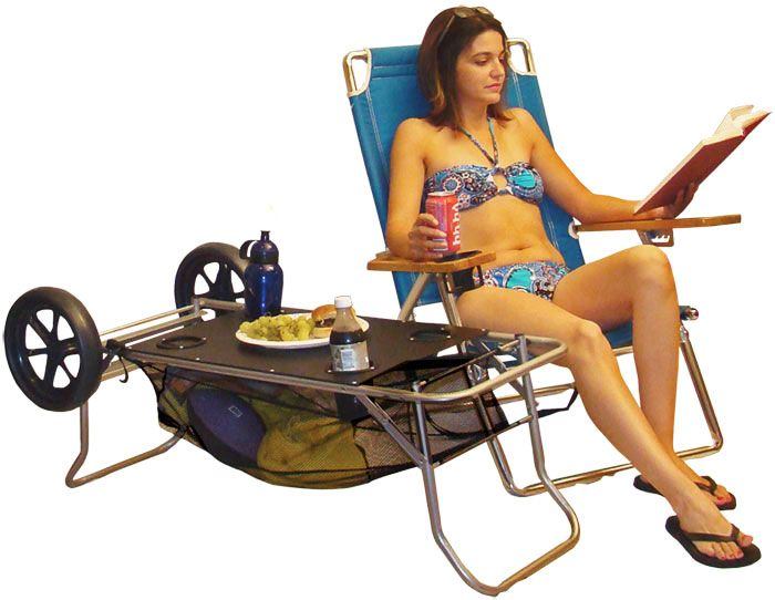 beach cart meets table, this could be could for lots of events too!