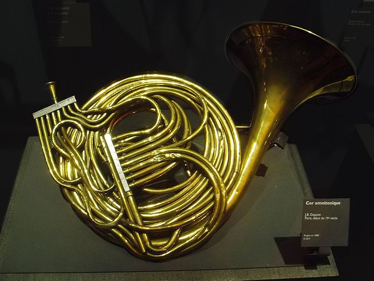 Omnitonic horn (Dupont, early 19th century)