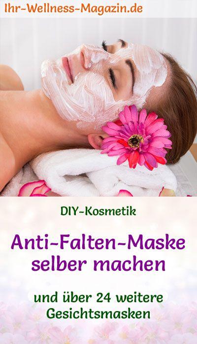 Anti-Falten-Maske selber machen – Rezept und Anleitung