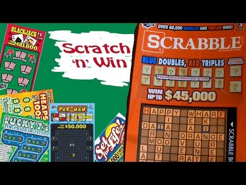 Scratch n Win Scrabble wedNESday - YouTube