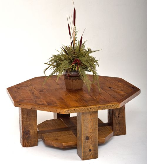 1000 Ideas About Rustic End Tables On Pinterest: 1000+ Ideas About Octagon Table On Pinterest
